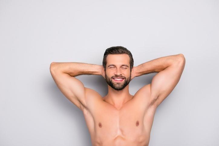 depilación láser pozuelo hombres