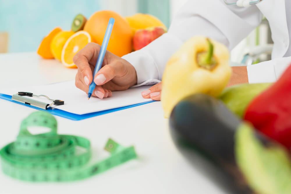 test nutrición